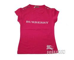 Ảnh số 19: Áo thun Burberry in nổi- hồng - Giá: 105.000