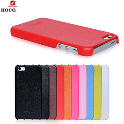 Ảnh số 12: Ốp da iPhone5 Hoco Duke back cover case - Giá: 250.000