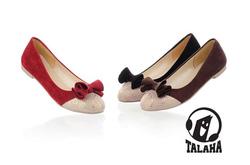 Ảnh số 7: Giày Búp bê thắt nơ dễ thương B013 - Giá: 250.000