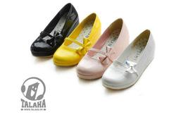 Ảnh số 11: Giày Búp bê công chúa nơ 1 bên B025 - Giá: 280.000