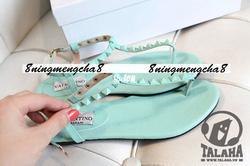 Ảnh số 20: Giày sandal dây xanh – S011 - Giá: 130.000