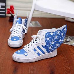 Ảnh số 47: Giày cánh ưng mẫu mới  sành điệu GN047 - 4 màu : đỏ, trắng,xanh navi,đen - Giá: 520.000