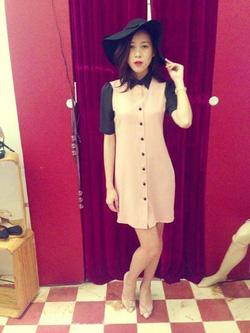 Ảnh số 23: Váy xuông LDP khuy cài - Giá: 250.000