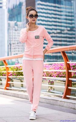 Ảnh số 19: Bộ đồ thu đông Hàn quốc 2014: BDD043 - Giá: 850.000