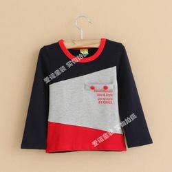 Ảnh số 8: 6. Áo bé trai 2-7 tuổi (cotton chun co dãn, dày dặn, mềm),  Giá : 170k - Giá: 170.000