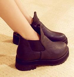 Ảnh số 8: Giày Da Chun mắt cá chân - Giá: 260.000