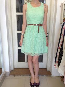 Ảnh số 52: Váy ren xanh City Traight: 300.000 - Giá: 220.000