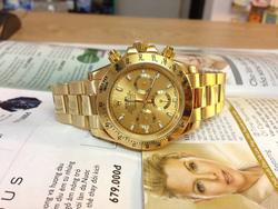Ảnh số 40: Đồng hồ Rolex vàng - Giá: 1.800.000