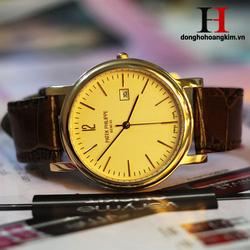 Ảnh số 59: Đồng hồ Lonngines mặt vàng - Giá: 1.280.000