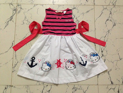 Ảnh số 12: Đầm Hello Kitty s&aacutet n&aacutech.Ri 6 c&aacutei 2-7T. - Giá: 55.000