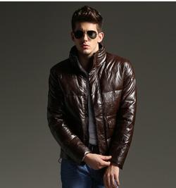Ảnh số 15: Áo khoác da No1dara  AK015- 4 màu: đen, cà fe, xanh tím, nâu nhạt - Giá: 900.000