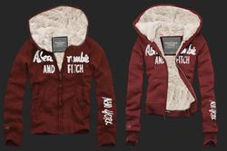 Ảnh số 1: Áo khoác Abercrombie&Fitch (đỏ đun) - Giá: 1.300.000