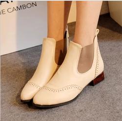 Ảnh số 65: Giày boot thun hoa văn - Giá: 250.000