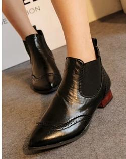 Ảnh số 47: Giày boot thun hoa văn - Giá: 200.000