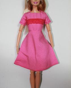 Ảnh số 99: v&aacutey hồng barbie - Giá: 65.000
