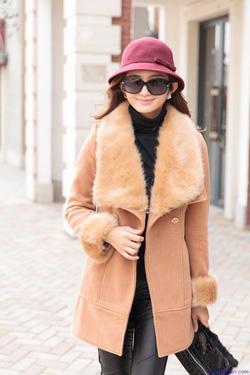 Ảnh số 16: Áo khoác nữ dáng dài Hàn Quốc 2014: AC3048 - Giá: 2.200.000