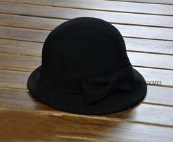 Ảnh số 20: mũ vành nhỏ màu den - Giá: 220.000