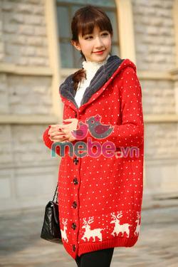 Ảnh số 44: Áo khoác len bầu thời trang JH 008 - Giá: 315.000