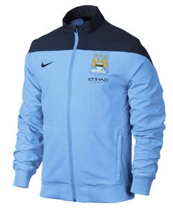 Ảnh số 29: áo khoác bóng đá manchester city xanh đen - Giá: 190.000