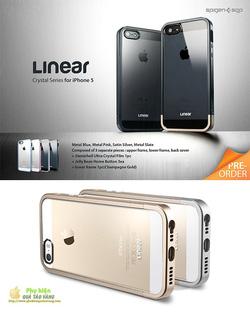 Ảnh số 8: Case iphone 5 và 5s SGP Linear Crystal - Giá: 599.000