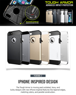 Ảnh số 17: Case iphone 5 SGP Tough Armor - Giá: 590.000