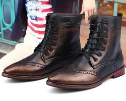 Ảnh số 51: Boot nam mã 51 (đen, đồng) - Giá: 850.000