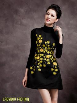 Ảnh số 82: Váy nhung công sở thu đông LADYROY- 3513 - Giá: 580.000