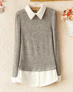 Ảnh số 3: Áo len / Size: M,L / Màu: Xanh lá, Ghi, Đỏ đun / Xuất xứ Made in Korea - Giá: 300.000