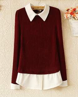 Ảnh số 4: Áo len / Size: M,L / Màu: Xanh lá, Ghi, Đỏ đun / Xuất xứ Made in Korea - Giá: 300.000