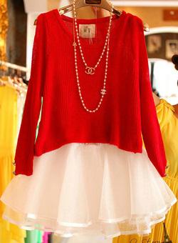 Ảnh số 53: Váy công chúa / Size: S, M, L / Màu: Vàng, Đỏ, Cát cháy / Xuất xứ Made in Korea - Giá: 350.000