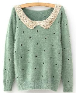 Ảnh số 57: Áo len / Size: S, M, L / Màu: Đen, Be, Hồng, Xanh... / Xuất xứ Made in Korea - Giá: 300.000