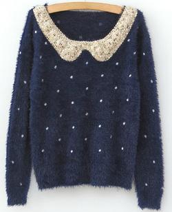 Ảnh số 58: Áo len / Size: S, M, L / Màu: Đen, Be, Hồng, Xanh... / Xuất xứ Made in Korea - Giá: 300.000