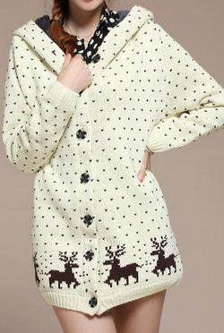 Ảnh số 60: Áo len giáng sinh/ Size: S, M, L / Màu: Trắng, Vàng, Xanh da trời, Xám / Xuất xứ Made in Korea - Giá: 350.000