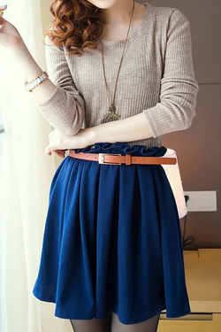Ảnh số 16: Áo khoác da / Size: M, L / Màu: Xanh, Nâu, Đen / Xuất xứ Made in Korea - Giá: 450.000
