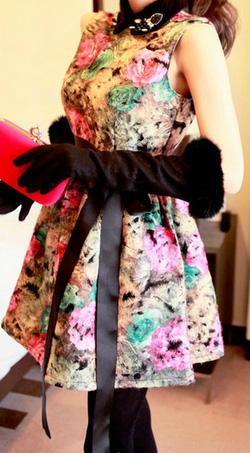Ảnh số 23: Áo phao cổ lông / Size: M, L / Màu: Đen, Nâu / Xuất xứ Made in Korea - Giá: 650.000