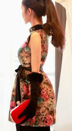 Ảnh số 24: Áo phao cổ lông / Size: M, L / Màu: Đen, Nâu / Xuất xứ Made in Korea - Giá: 650.000