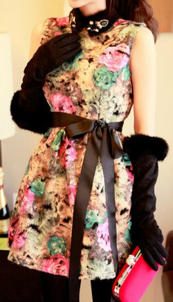 Ảnh số 25: Áo phao cổ lông / Size: M, L / Màu: Đen, Nâu / Xuất xứ Made in Korea - Giá: 650.000