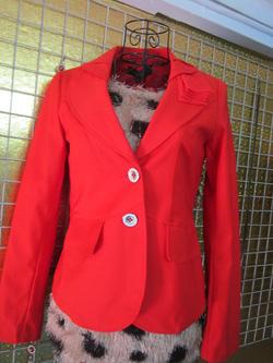 Ảnh số 36: Áo vest màu cam, hai lớp, size L - 120k - Giá: 120.000