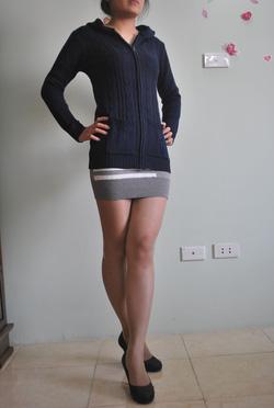 Ảnh số 47: Áo len cổ tròn / Size: M, L / Màu: Cam, Xanh cốm, Xanh da trời / Xuất xứ Made in Korea - Giá: 300.000