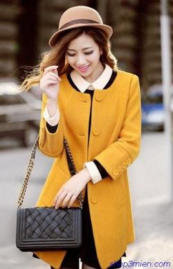 Ảnh số 10: Áo khoác nữ dáng dài Hàn Quốc 2014: AC3065 - Giá: 1.500.000