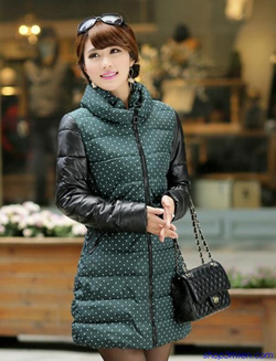 Ảnh số 22: Áo khoác nữ dáng dài Hàn Quốc 2014: AC3061 - Giá: 2.400.000