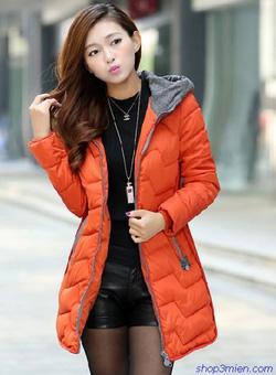 Ảnh số 100: Áo khoác nữ dáng dài Hàn Quốc 2014: AC3038 - Giá: 2.000.000