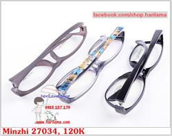 Ảnh số 29: Gọng Kính Nhựa, Kính Nhựa Dẻo, Gọng Nhựa Dẻo Minzhi Tr90 - Giá: 120.000