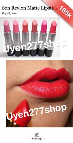 Ảnh số 67: Son revlon matte lipstick - Giá: 185.000