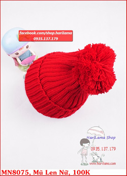 Ảnh số 15: Mũ len nữ đẹp - Giá: 123.456.789
