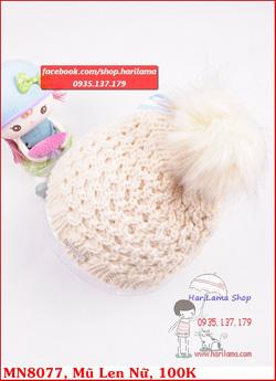 Ảnh số 22: Mũ len nữ đẹp - Giá: 123.456.789