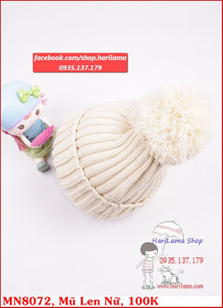 Ảnh số 26: Mũ Nữ, Mũ Len Nữ, Mũ Nữ Style Hàn, Mũ Nữ kiểu Hàn Quốc, Mũ Nữ ở Hà Nội - Giá: 123.456.789