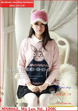 Ảnh số 34: Mũ Nữ, Mũ Len Nữ, Mũ Nữ Style Hàn, Mũ Nữ kiểu Hàn Quốc, Mũ Nữ ở Hà Nội - Giá: 123.456.789