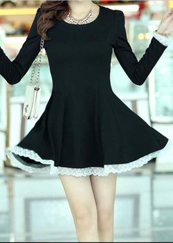 Ảnh số 10: Váy thêu ren / Size: M,L / Màu: Trắng, Đen, Ghi / Xuất xứ Made in Korea - Giá: 450.000