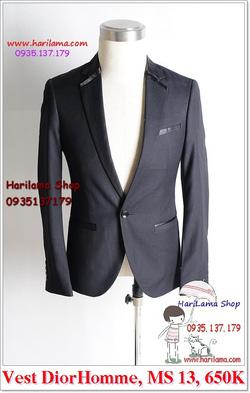 Ảnh số 20: Áo Vest Nam, Áo Vest Dior - NYQ 13, Áo Vest Hàn, Áo Vest Cưới - Giá: 650.000